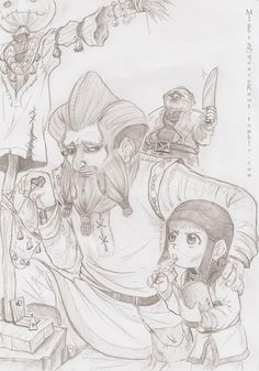 Ri brothers sketch by Isis-90 on DeviantArt