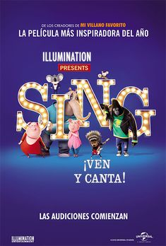 Watch Sing Trailer,Sing Movie Release Date of India,First Look of Upcoming New Movie Sing Kid Movies, Family Movies, Cartoon Movies, Great Movies, Disney Movies, Movies And Tv Shows, Movie Tv, Movies For Kids, 2017 Movies