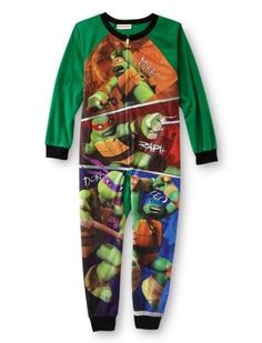 NWT TMNT Teenage Mutant Ninja Turtles boys 4//5 flannel pajamas pjs 2 pc set