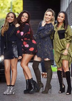 Little Mix ♡ Idk who out of them 4 I love the most but I just know that all of them are precious to me