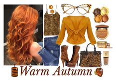 Warm Autumn by prettyyourworld on Polyvore featuring Anine Bing, Essie, Paolo Shoes, Burberry, Effy Jewelry, Patrizia Daliana, West Coast Jewelry, SWG and Too Faced Cosmetics