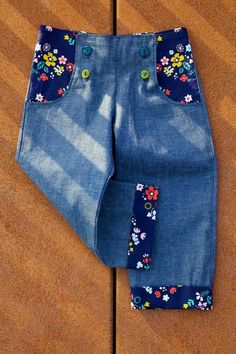 Sailor pants - FREE pattern