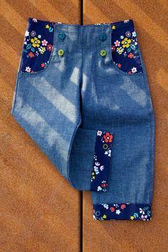 Sailor pants - FREE pattern