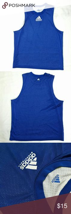 ADIDAS  Jersey Used twice; in excellent condition; no rips; no stains Adidas Shirts Tank Tops