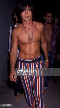 Billy Wirth attends the birthday party for Herb Ritts on August 10, 1991 at the Converted Warehouse in Culver City, California.