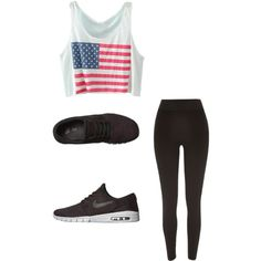Janoski Max by missnashty on Polyvore featuring mode, River Island and NIKE