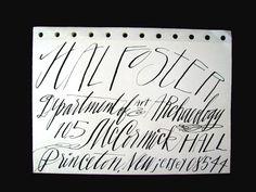 queen quills calligraphy | native wild hand