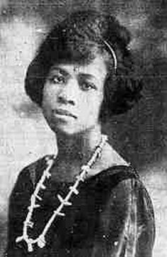 "Amy Jacques Garvey, wife of Marcus Garvey, leader of the United Negro Improvement Association (UNIA). Advocated ""community feminism,"" considered women's voices & viewpoints integral to community and race progress. Wrote the ""Ethiopian Queens will reign again"""