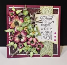 Blessed by DJRants - Cards and Paper Crafts at Splitcoaststampers