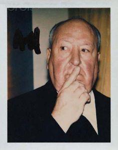Polaroïd / Hitchcock by Warhol