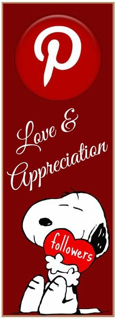 Love and Appreciation to my Followers <3 Come Back Often and Pin What Inspires You...