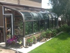 Definition of Happiness: The Greenhouse that Brent built :)