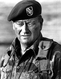 Hollywood decided to make these war movies, some pretty truthful, some unrealistic, and some just plain awful. Hey we all like John Wayne, but. John Wayne Quotes, John Wayne Movies, Green Beret, Citations De John Wayne, I Movie, Movie Stars, Movie Photo, Hollywood Stars, Hollywood Glamour