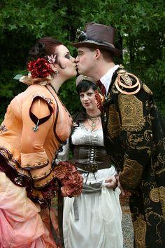 Alternative Bride | Of course my love of Steampunk