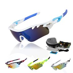 508f73230ef Professional Polarized Cycling Glasses Bike Goggles Fishing Outdoor Sports  Sunglasses UV 400 With 5 Lens TR90 STS801 5 Color-in Cycling Eyewear from  Sports ...