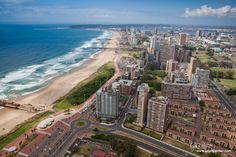 Durban is the largest city in the South African province of KwaZulu-Natal. It is also the third largest city in South Africa after Johannesburg and Cape Town. Adventure Style, Adventure Travel, Itinerary Planner, Trip Planner, South Afrika, City Of God, Kwazulu Natal, Pretoria, Aerial Photography