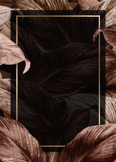 premium illustration of Bronze tropical leaves patterned poster Bronze tropical leaves patterned poster Phone Wallpaper Images, Framed Wallpaper, Screen Wallpaper, Wallpaper Backgrounds, Iphone Wallpaper, Backgrounds Free, Flower Background Wallpaper, Tropical Background, Flower Backgrounds