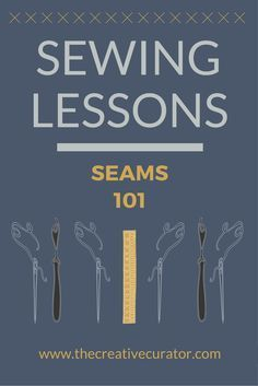 Click if you're not sure what seams you should be using, or how to sew them! Learn all about seams in this sewing seams article. Great for sewers, designers, pattern makers - learn how to sew seams! #sewing #patternmaking #sewingprojects #fashiondesign