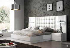 Dormitorio matrimonio moderno lacado brillo madera 11-63|Mobles Sedaví Master Bedroom Furniture, Bed Furniture Design, Luxury Furniture Design, Bed Design, Bed Design Modern, Luxury Bedroom Inspiration, Bedroom Door Design, Living Room Sofa Design, Ceiling Design Bedroom