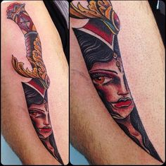 Dagger Tattoo Meanings iTattooDesignscom