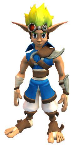 Jak & Daxter, Dark Warrior, Cartoon Video Games, Character Modeling, Epic Games, Fair Skin, Blue Eyes, The Past, Character Design