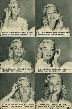 1957 Beauty Grooming & Make-up Tips