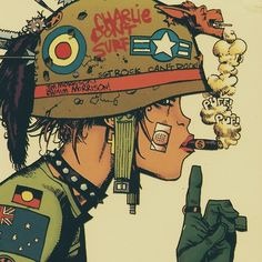 I <3 Tank Girl. (via http://skunkandburningtires.tumblr.com/post/69721401789)
