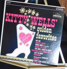 Kitty Wells Lp Golden Favorites Near Mint #AlternativeCountryAmericanaContemporaryCountryCountryPopEarlyCountryNashvilleSoundTraditionalCountry