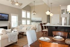 Stone Harbor Beach House - contemporary - Family Room - Philadelphia - Angela Ruple Interior Design