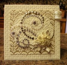 Vintage flower card by nwilliams6 - Cards and Paper Crafts at Splitcoaststampers