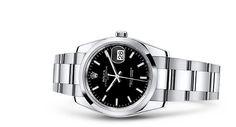 Rolex Date 34 Watch: 904L steel - 115200