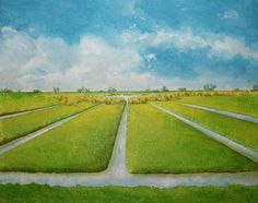 Dutch Landscape 5 by Lucienne Smit; Noord Holland; 't Kalf
