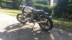 1978 Honda CB 250 Custom by Régence