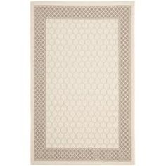 @Overstock - Perfect for any backyard, patio, deck or along the pool, this rug is great for outdoor use as well as any indoor use that requires an easy to maintain rug.http://www.overstock.com/Home-Garden/Poolside-Beige-Dark-Beige-Indoor-Outdoor-Rug-67-x-96/6680154/product.html?CID=214117 $146.99