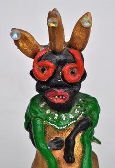 Bessie Harvey figurines ~ Candler Arts 3d Art, Folk Art, Sculptures, Teaching Art, Art, Found Object, Art History, Outsider Art, Folk