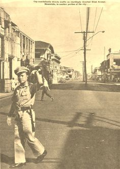 1950s Avenida (ctto) Philippines Culture, Manila Philippines, Senior Citizen Humor, Pinoy, Vintage Pictures, Line Art, Nostalgia, Scenery, Filipiniana