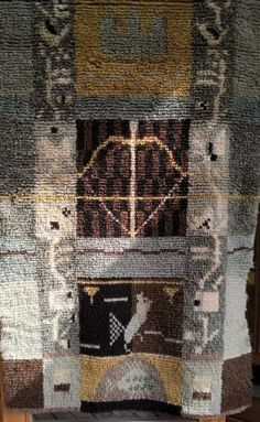 Savon maakunnan ryijy Rya Rug, Wool Rug, Rye, Rug Hooking, Wall Hangings, City Photo, Fiber, Weaving, Carpet