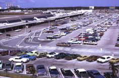 Florida Memory - Bird's eye view looking over the Ft. Lauderdale-Hollywood International Airport.