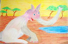 Third Grade Art Lesson 30 | Observing Animals Part 2 Completing Our Imaginary Animals