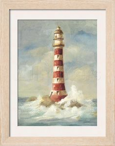 Lighthouse II Giclee Print by Danhui Nai - at AllPosters.com.au