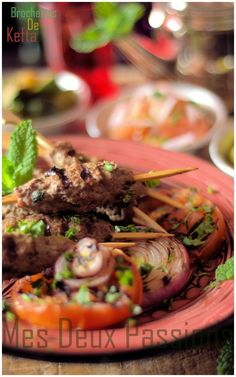kefta brochettes recipes dishmaps moroccan spiced lamb brochettes ...