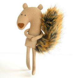 Plush Squirrel Friend