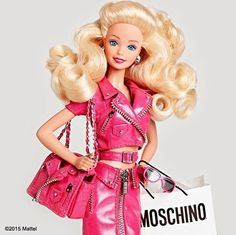 #TBT to last year's collaboration with @Moschino, where the insanely talented @itsjeremyscott created an entire #Moschino collection inspired by #Barbie!