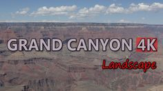 Ultra HD 4K Grand Canyon Arizona USA Travel Beautiful American Landscape Day UHD Video Stock Footage