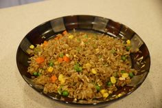 I love hibachi. Mom's night out – Yes please. Celebrating a birthday – No better place. Random Thursday evening – why not. The first time I ever experienced this amazingn… Hibachi Style Fried Rice Recipe, Stir Fried Rice Recipe, Hibachi Recipes, Hibachi Fried Rice, Rice Recipes, Asian Recipes, Cooking Recipes, Healthy Recipes, Oriental Recipes