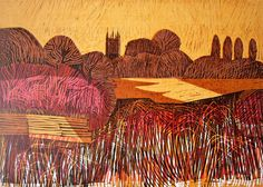 Magdalen From the Cherwell  Oxford Series by Robert Tavener