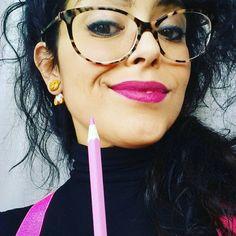 """Gefällt 11 Mal, 1 Kommentare - Dominga Tammone (@dominga.tammone) auf Instagram: """"#orso di sera bel tempo si spera!  #🐻 grr!  #orecchino #orsetto #pink #smile"""""""