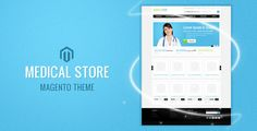 Medical Store Magento Theme - ThemeForest Item for Sale