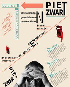 Own creation, style Piet Zwart