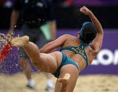 Becchara Palmer - Le beach volley féminin en images ! - MSN Actualité